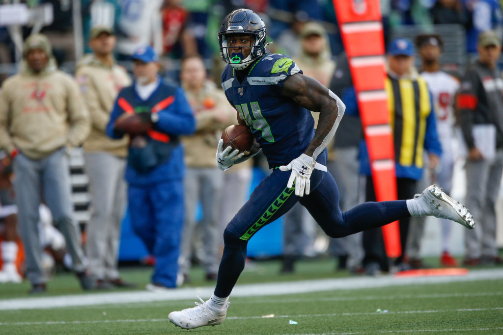 Seahawks wide receiver D.K. Metcalf