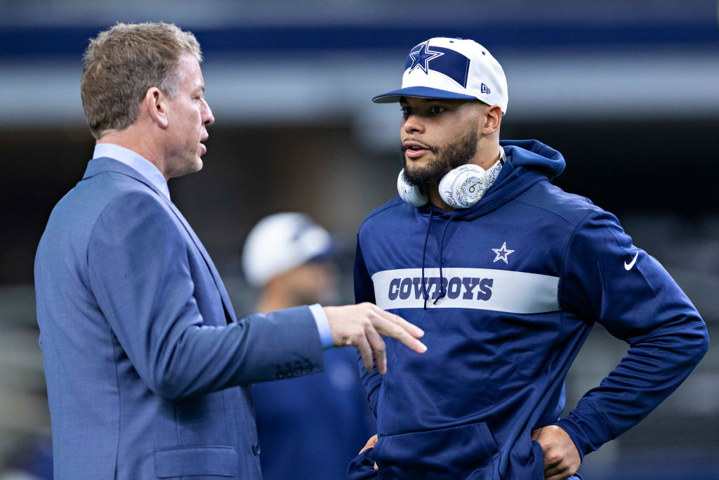 Dallas Cowboys quarterback Dak Prescott will need a new contract this offseason.