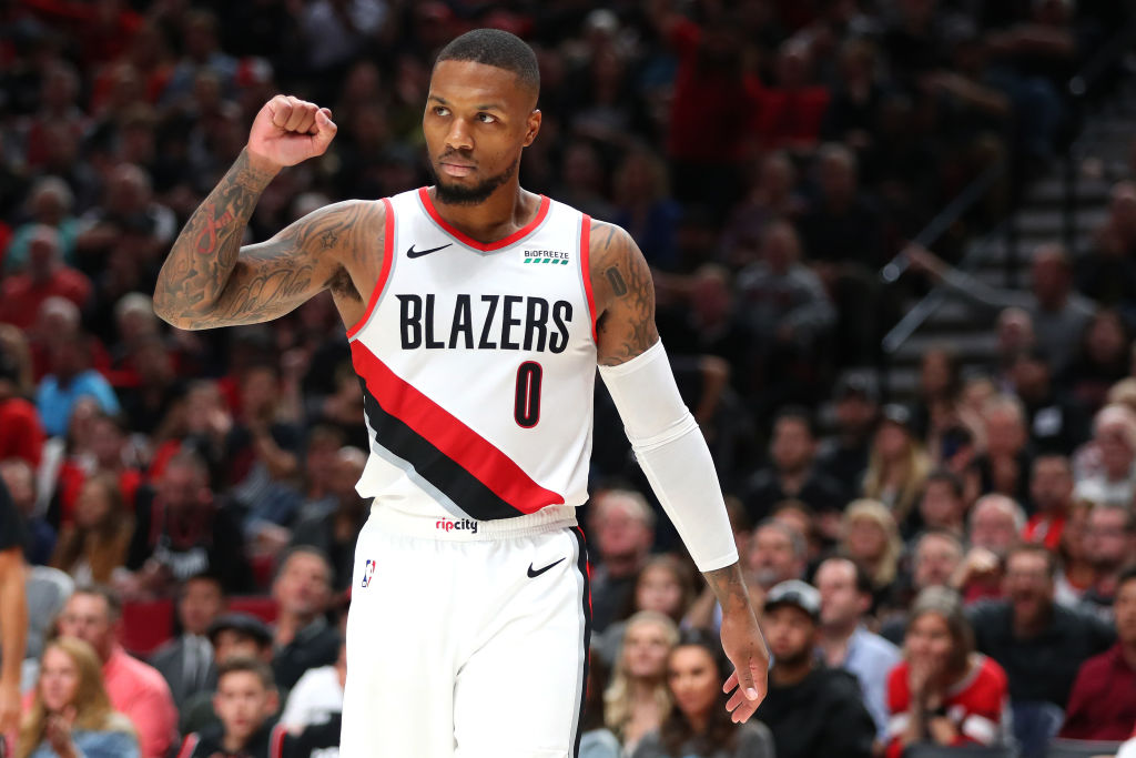 Damian Lillard is a key asset when Portland Trail Blazers coach Terry Stotts asks for a coach's challenge review.