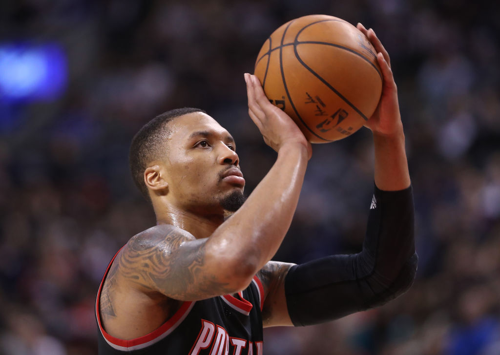 Damian Lillard has a chance to go down as one of the most accurate free throw shooters in NBA history.