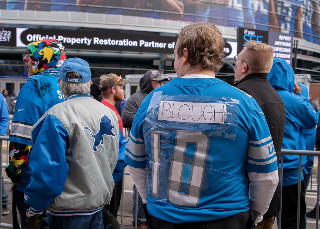 At least one fan in Detroit will be sporting a David Blough jersey on Thursday