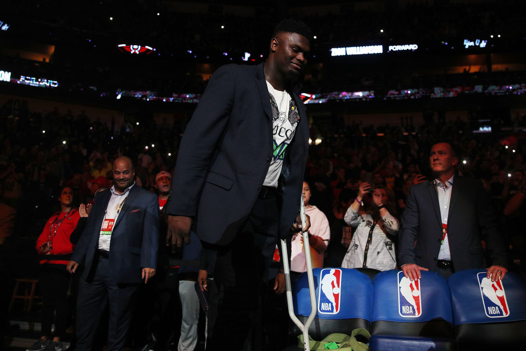 Pelican executive David Griffin blasted those who believe Zion Williamson's weight contributed to his injury.