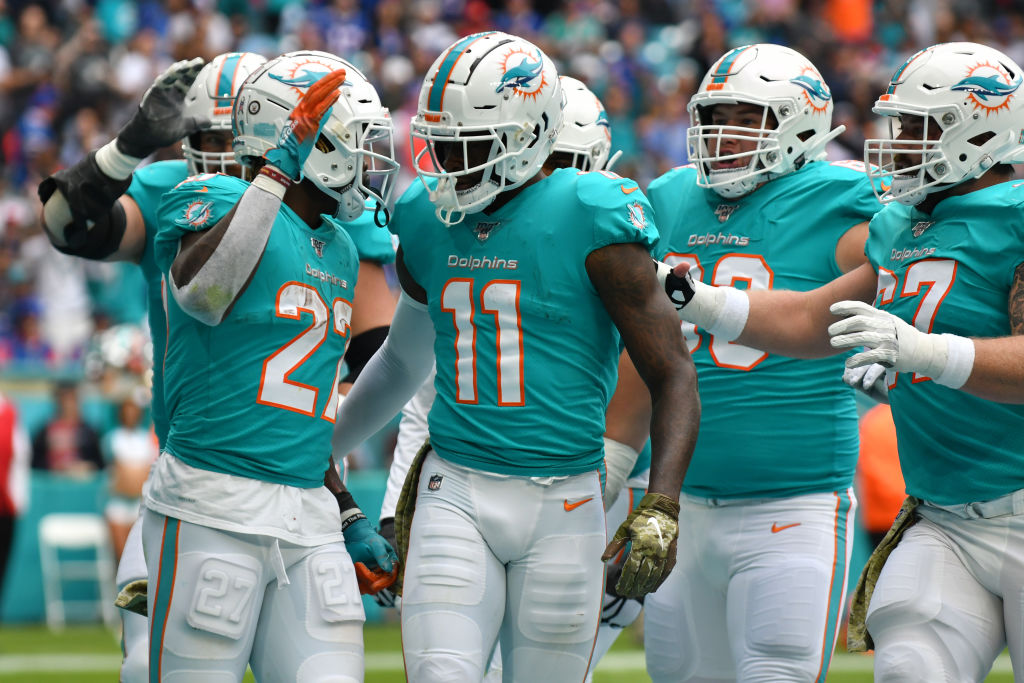Dolphins wide receiver DeVante Parker