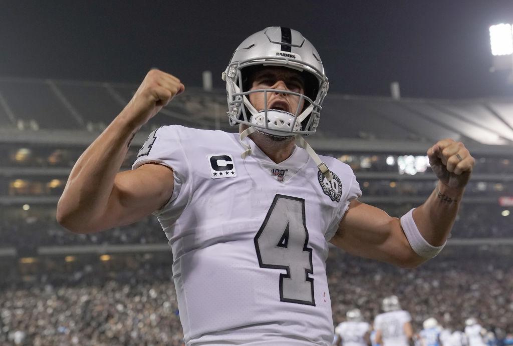 Raiders quarterback Derek Carr