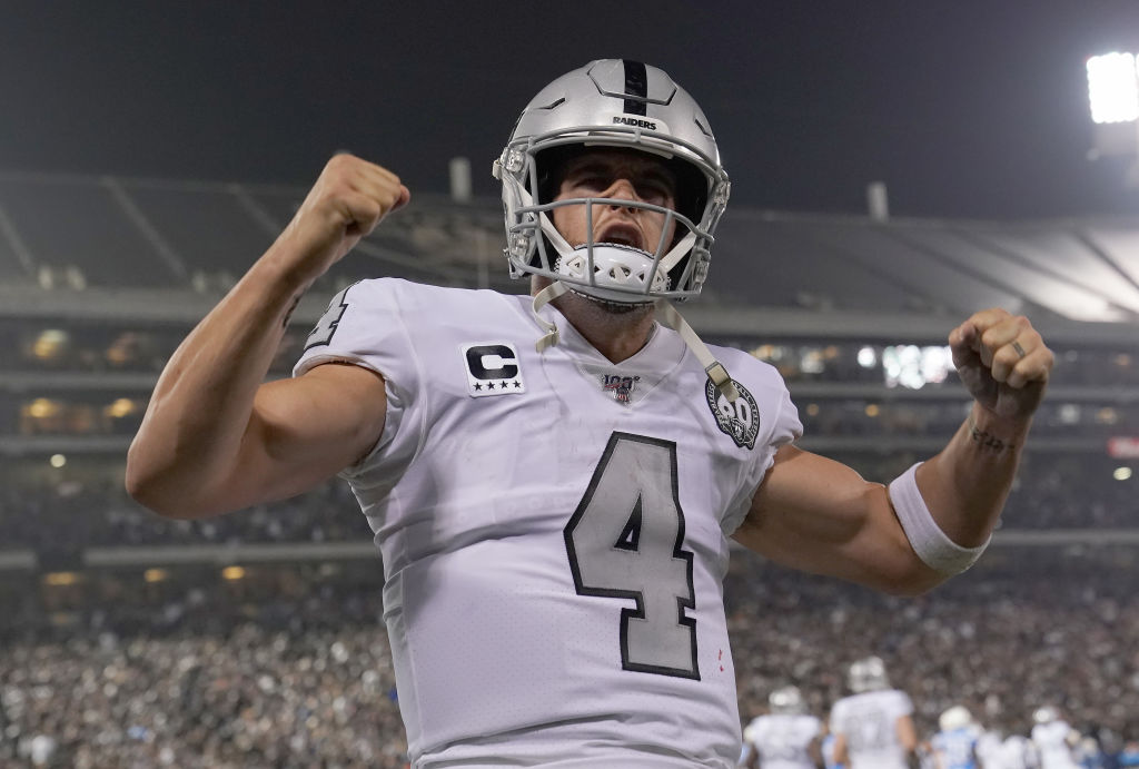 One play in 2019 proved that Derek Carr is getting his career back on track.