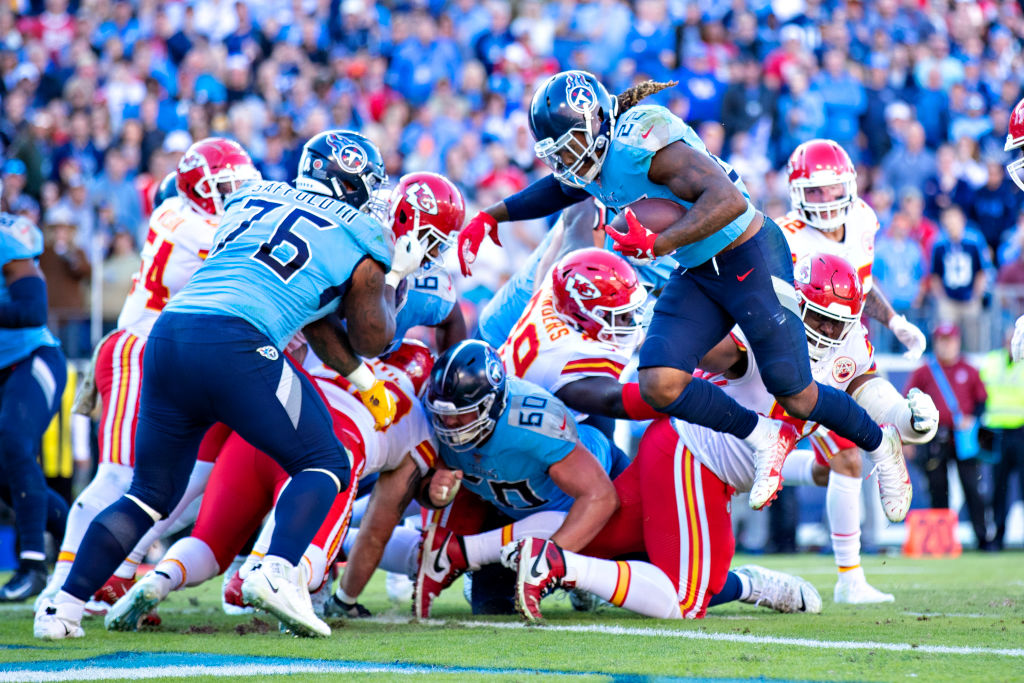 The Kansas City Chiefs defense was unable to stop the Tennessee Titans on Sunday.