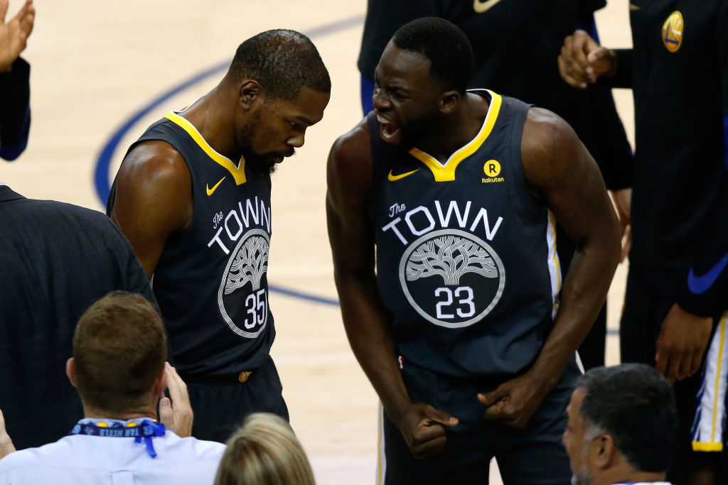 One Kevin Durant comment really upset Warriors forward Draymond Green.