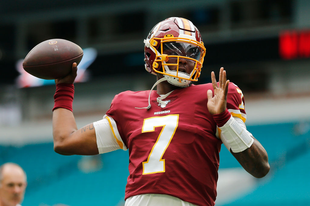 The Washington Redskins aren't helping their rookie quarterback Dwayne Haskins feel comfortable.