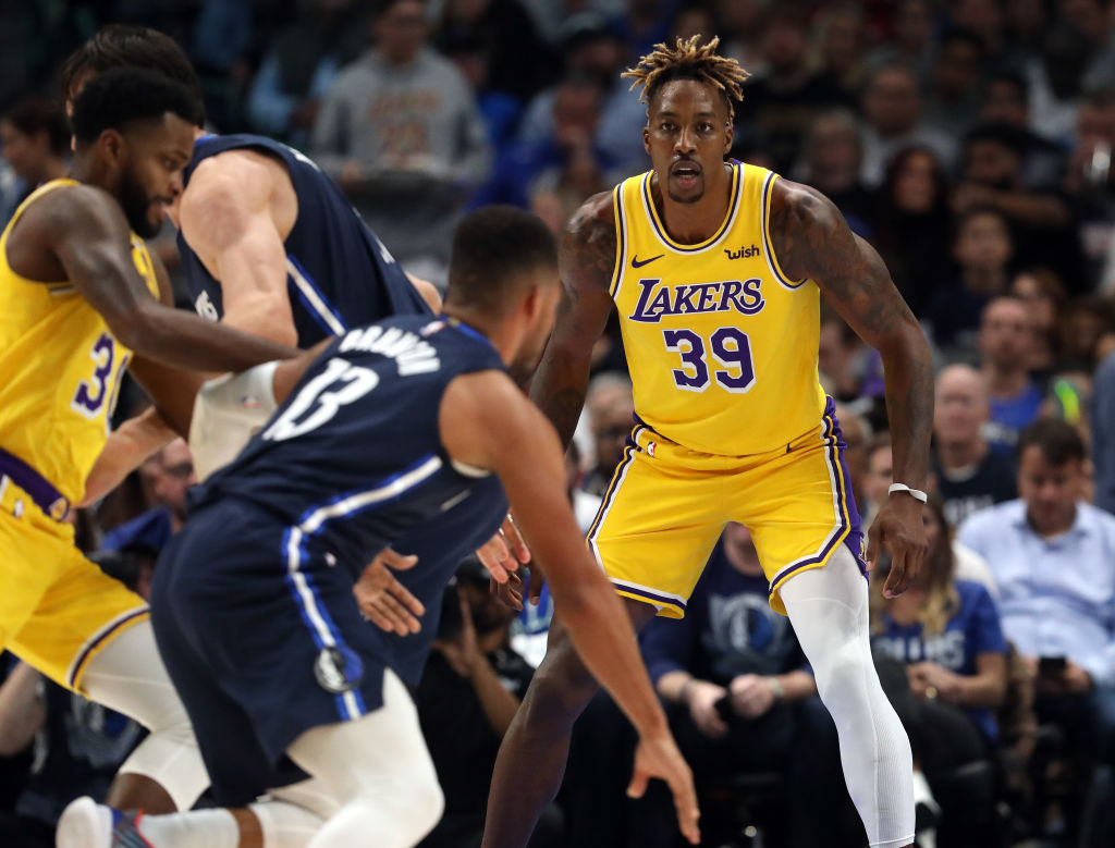 Even Shaq has taken notice of Dwight Howard's performance with the Los Angeles Lakers.