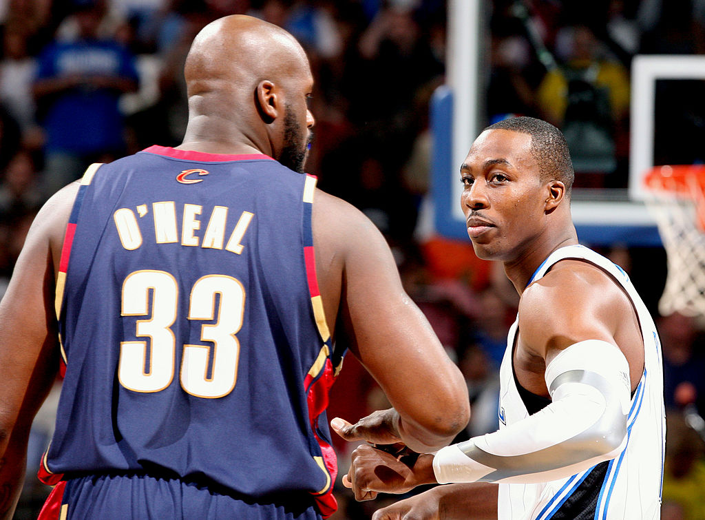 Shaquille O'Neal and Dwight Howard have battled both on and off the basketball court.