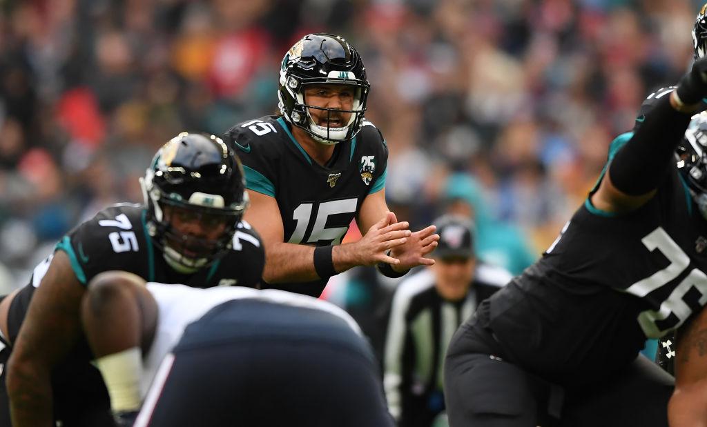 Jacksonville Jaguars starting quarterback Gardner Minshew may be returning to the bench.