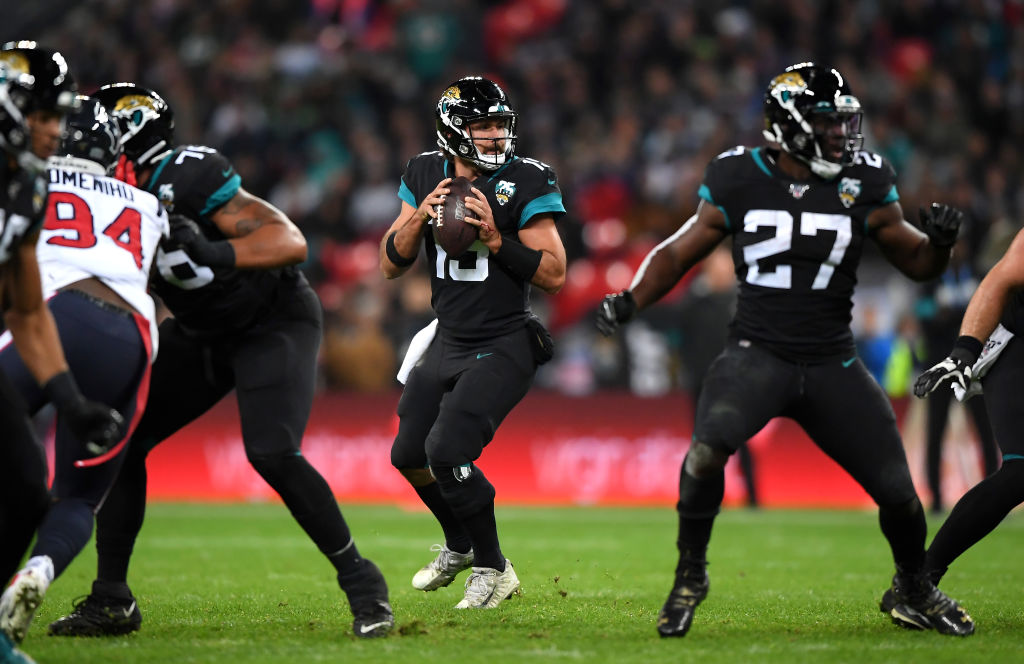 Gardner Minshew lost the Jaguars starting job to Nick Foles
