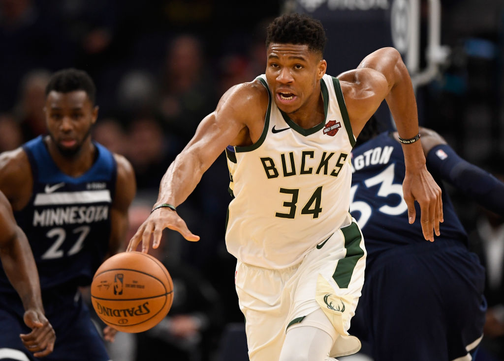 Giannis Antetokounmpo of the Milwaukee Bucks hits NBA free agency in 2021