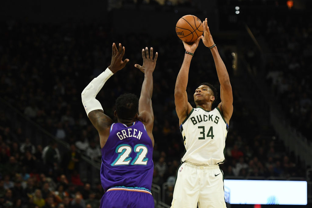 Milwaukee Bucks forward Giannis Antetokounmpo is the reigning NBA MVP.