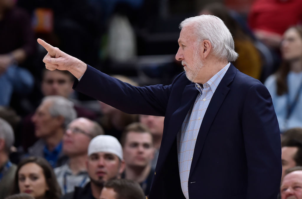 Gregg Popovich splurges on multiple expensive team dinners each season and generously picks up the tab every time.