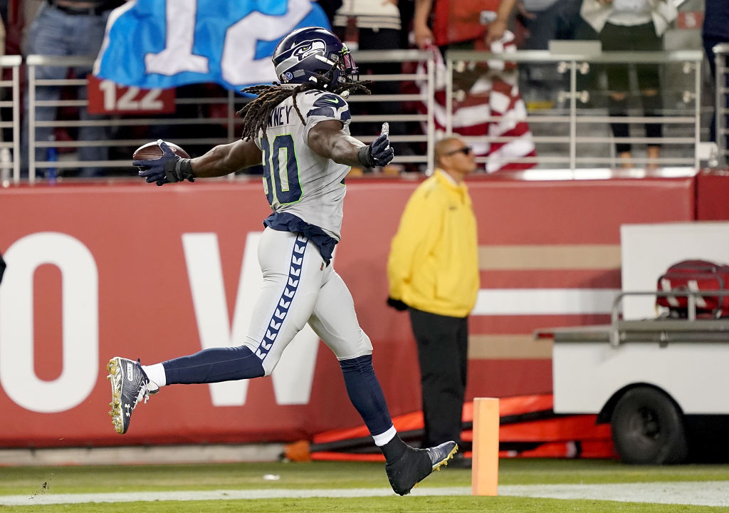 Seattle Seahawks defensive end Jadeveon Clowney dominated the San Francisco 49ers.