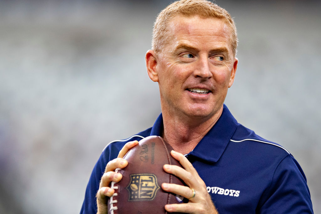 Cowboys head coach Jason Garrett