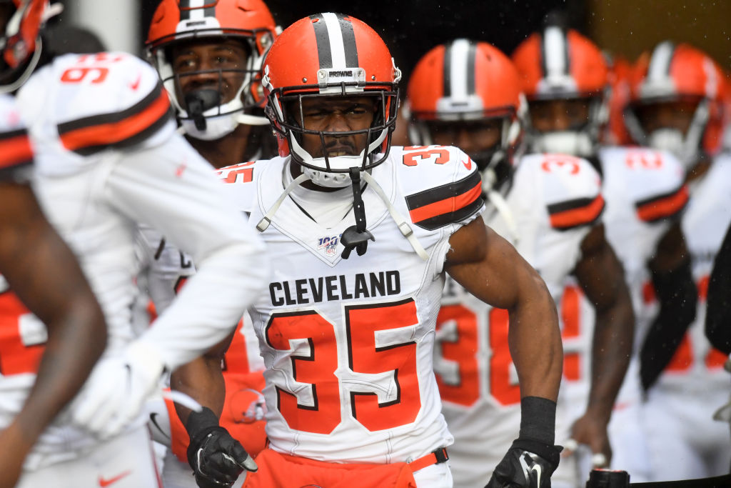 Former Browns safety Jermaine Whitehead
