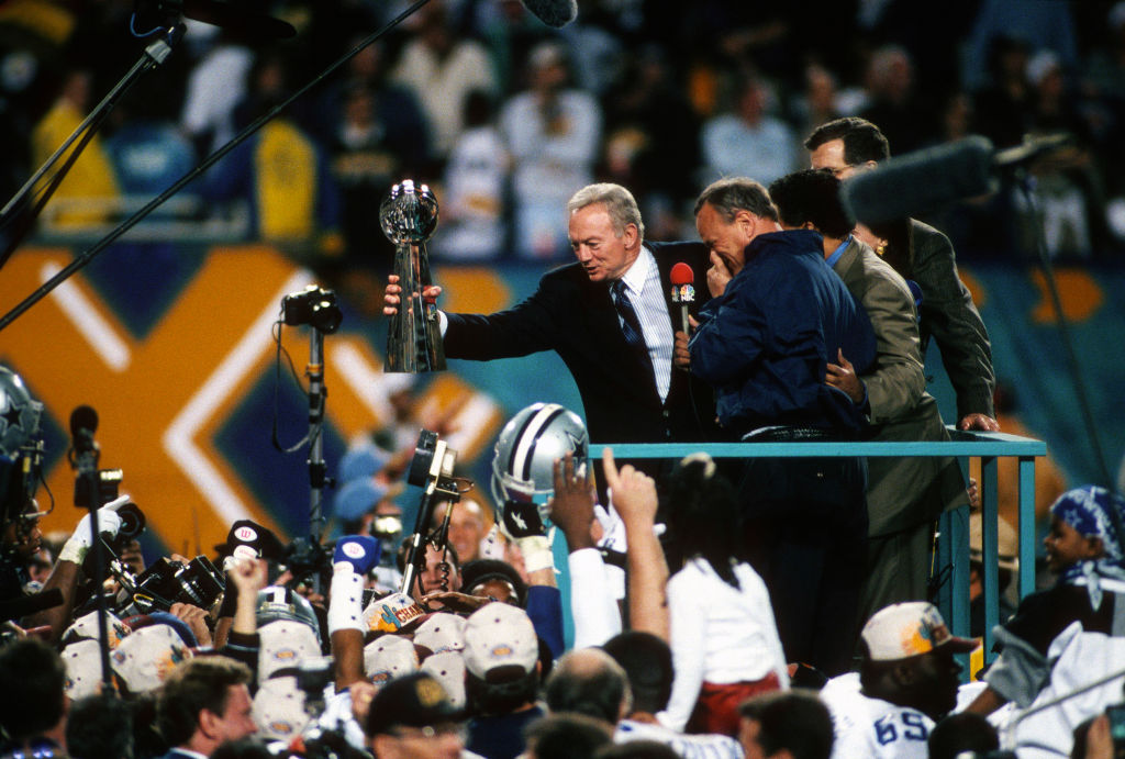 Jerry Jones transformed the Dallas Cowboys into a winning franchise.