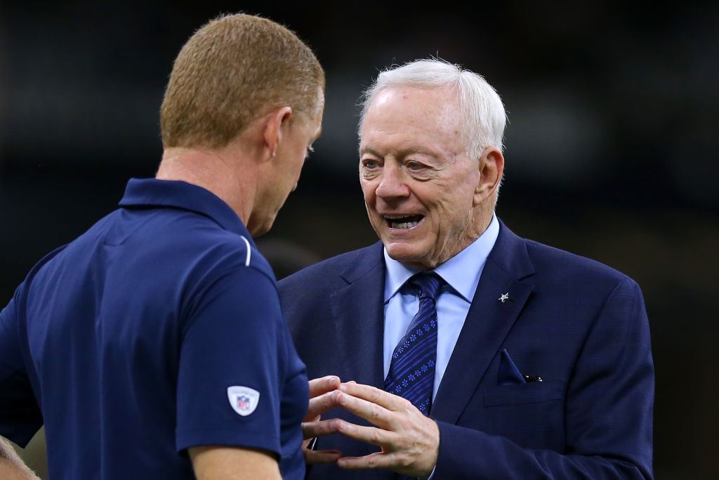 Dallas Cowboys owner Jerry Jones has been turning up the heat on head coach Jason Garrett.