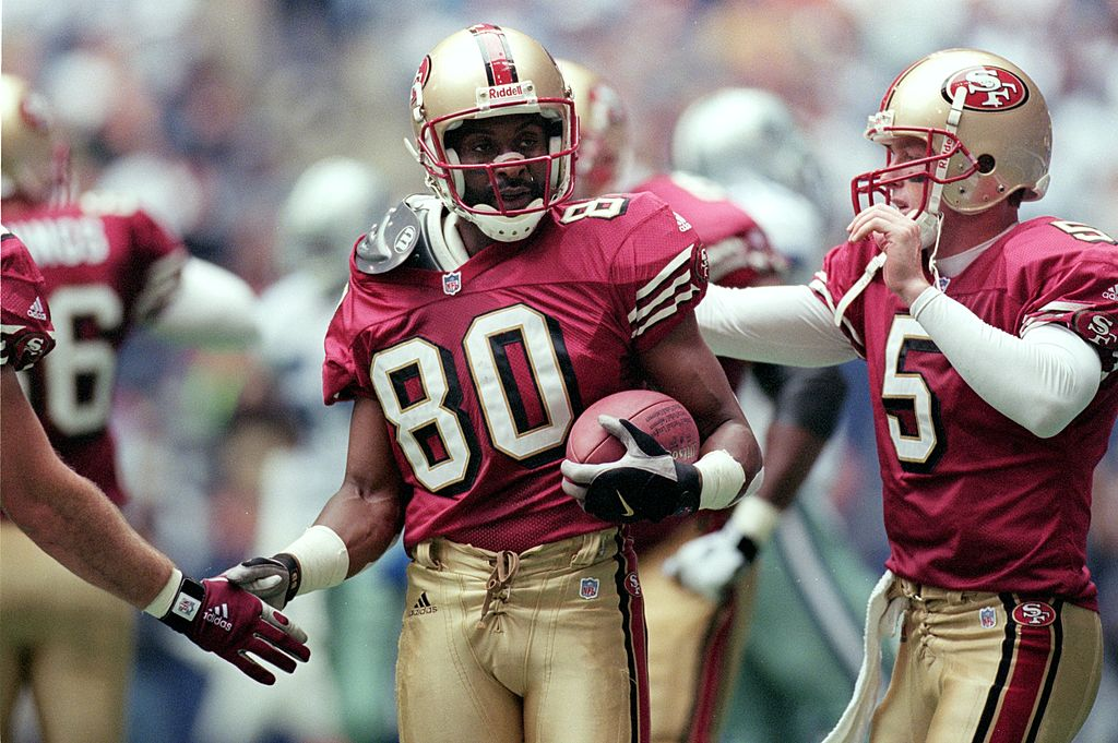 Football legend Jerry Rice says current receiver Julian Edelman is the best in the NFL in one way.