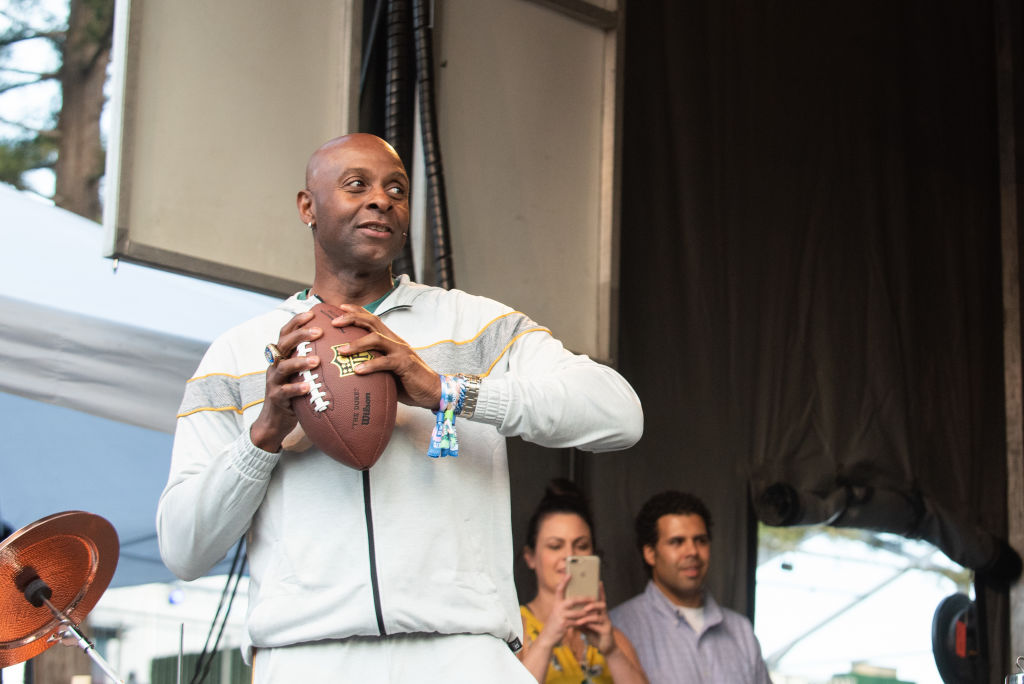 Hall of Fame wide receiver Jerry Rice
