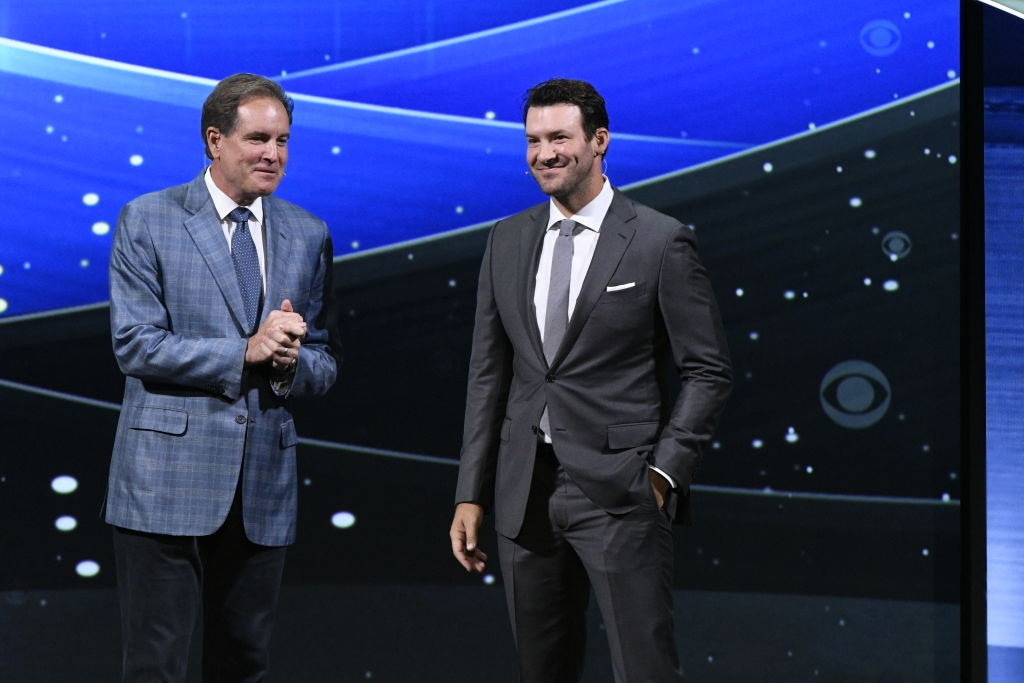 Jim Nantz and Tony Romo