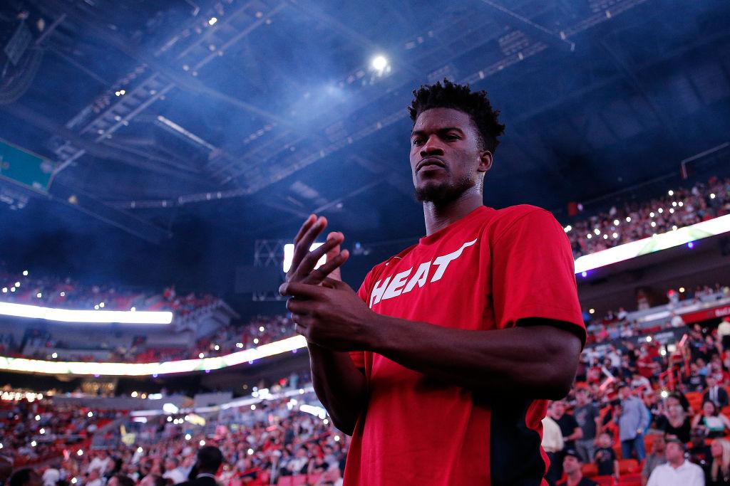 Heat forward Jimmy Butler