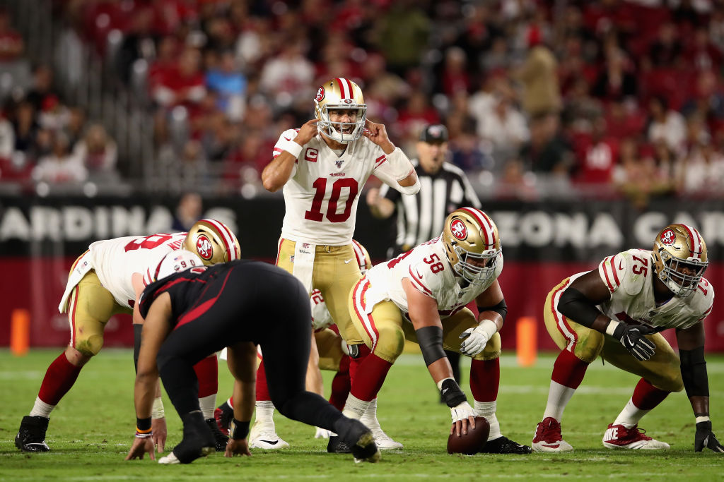 Is quarterback Jimmy Garopolo goo enough to lead the 49ers past the New Orleans Saints?