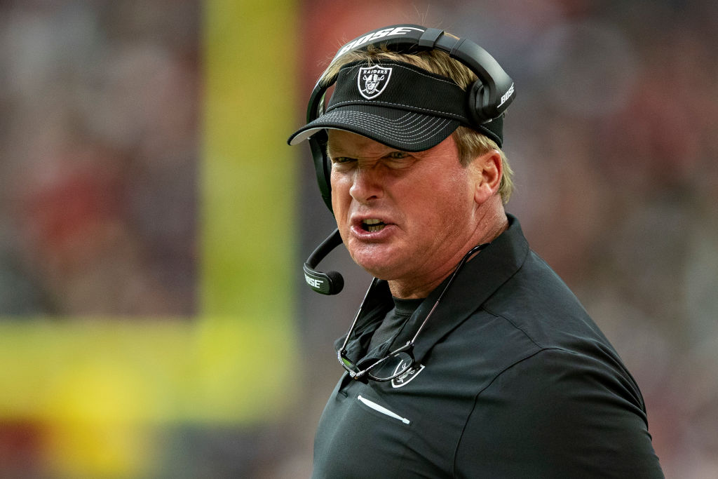 Is Jon Gruden the most overpaid coach in the NFL?