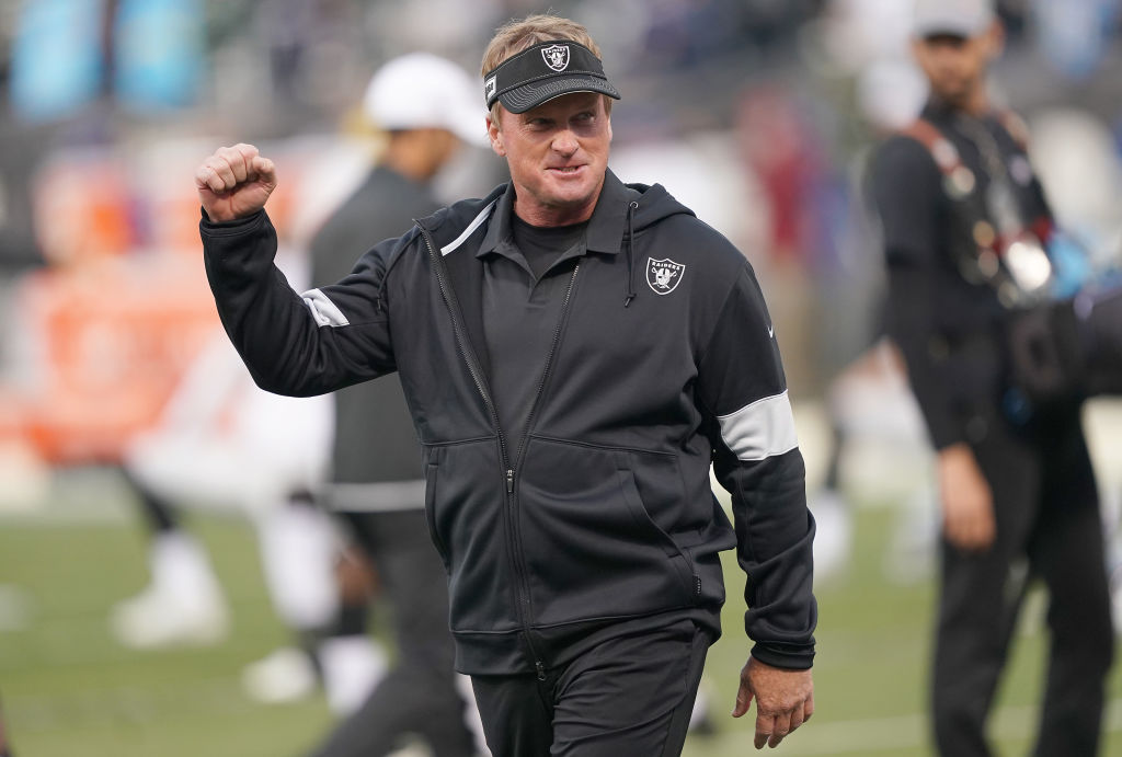 Jon Gruden and the Oakland Raiders have something cooking this season