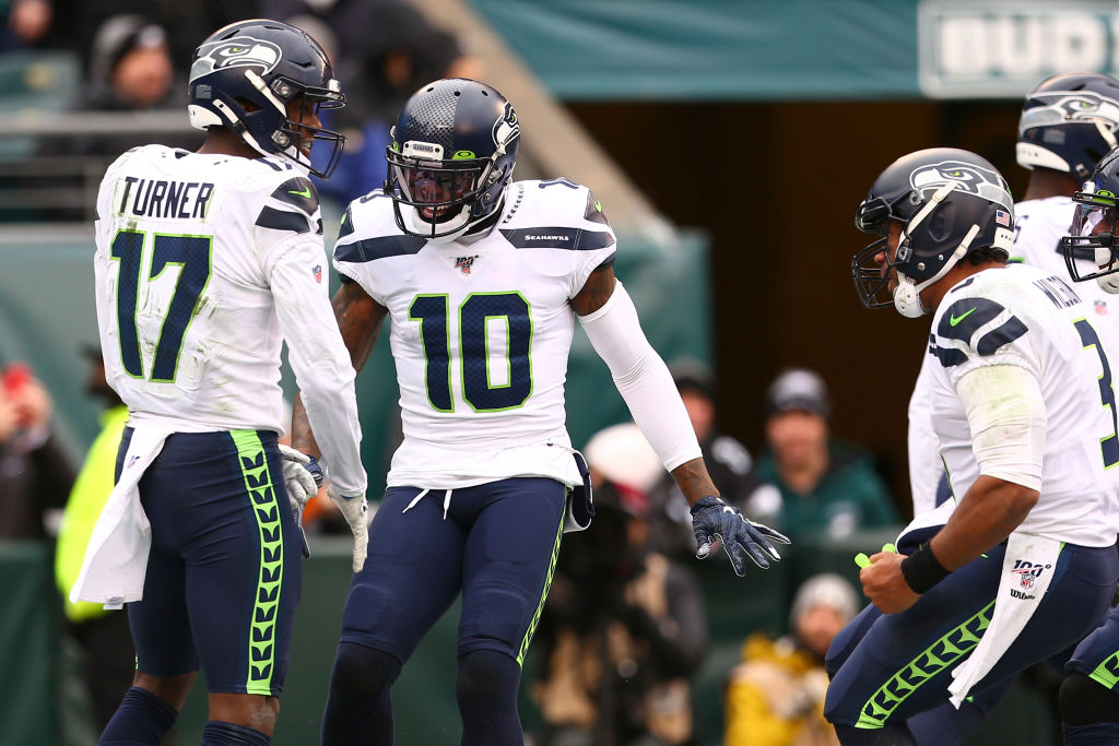 Josh Gordon is new to the Seahawks, but he might be the best wide receiver Russell Wilson has ever played with.