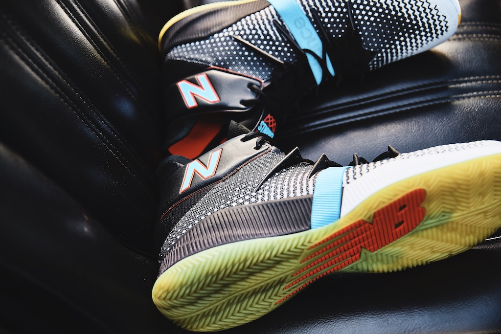 NBA star Kawhi Leonard recently released his new sneaker colorway, OMN1S Baited