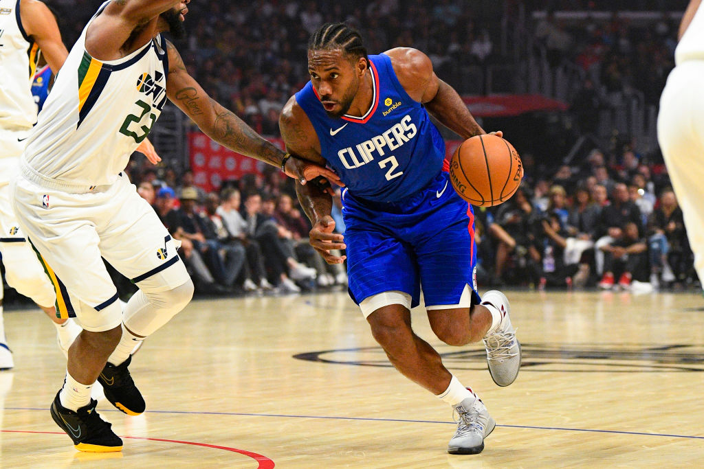 Clippers forward Kawhi Leonard added another weapon to his arsenal that makes him nearly unstoppable.