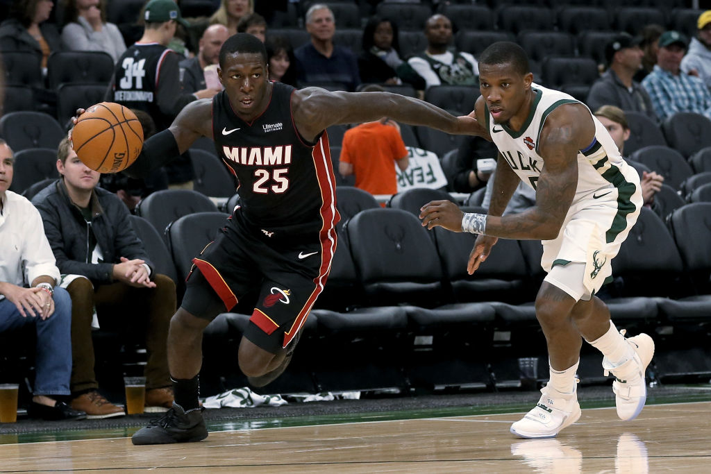 Heat guard Kendrick Nunn went from being undrafted to earning Dwyane Wade's respect for his play for the Heat.