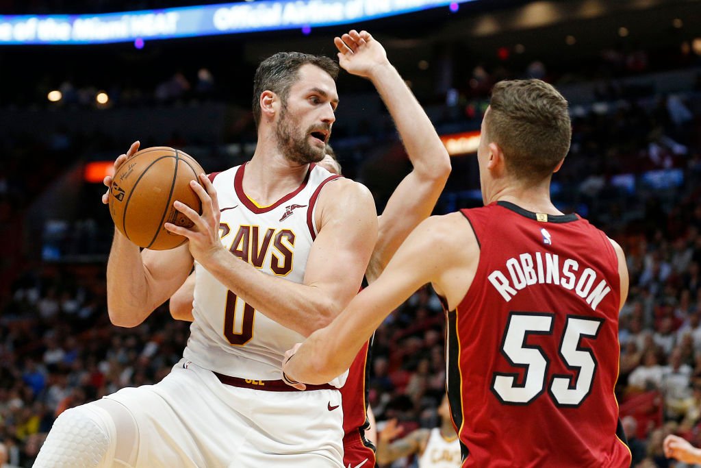 1 Western Conference Team That's the Perfect Fit for the Cavaliers Kevin Love