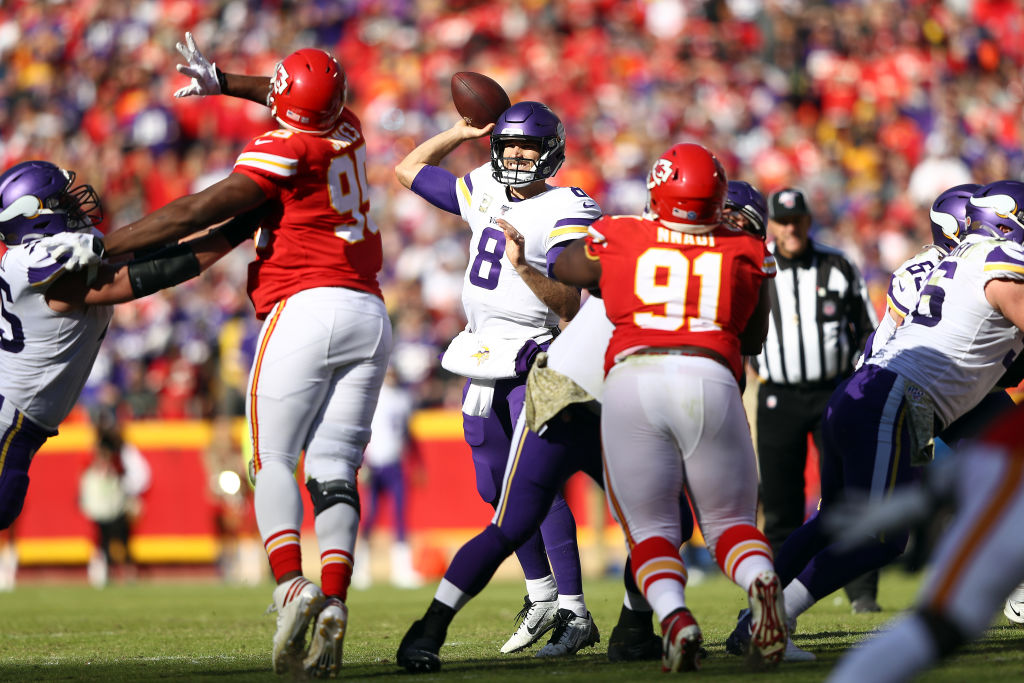 Kirk Cousins will look to prove that he's the right quarterback for the Minnesota Vikings.