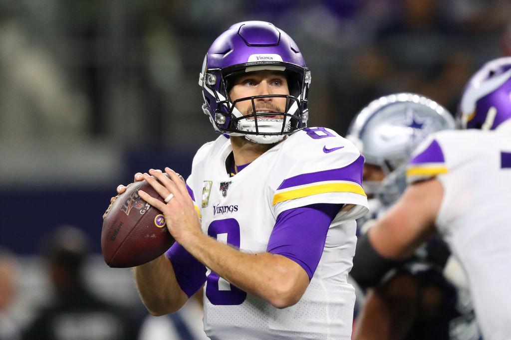 Minnesota Vikings quarterback Kirk Cousins has had an inconsistent 2019 NFL season.