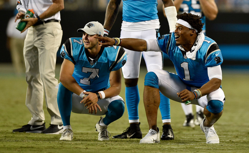Kyle Allen is the starter for the Carolina Panthers after Cam Newton was shut down for the year.