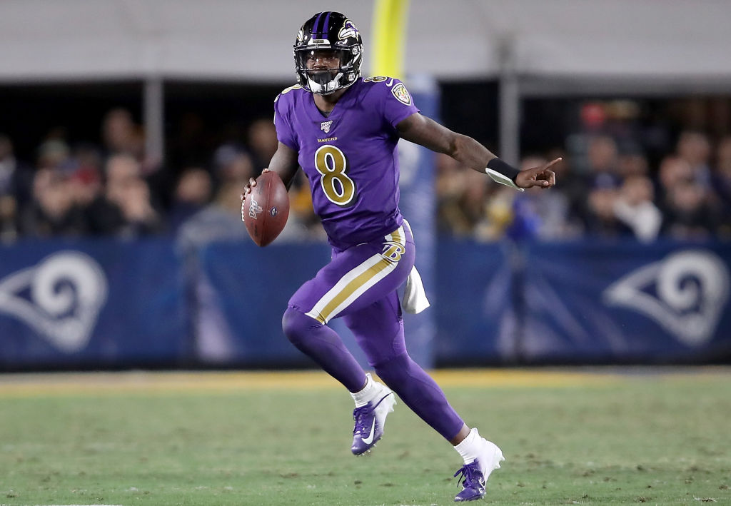 Baltimore Ravens quarterback Lamar Jackson has been unstoppable this season.