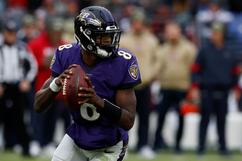 Lamar Jackson and the Baltimore Ravens are among the teams that could spoil a New England vs. San Francisco showdown