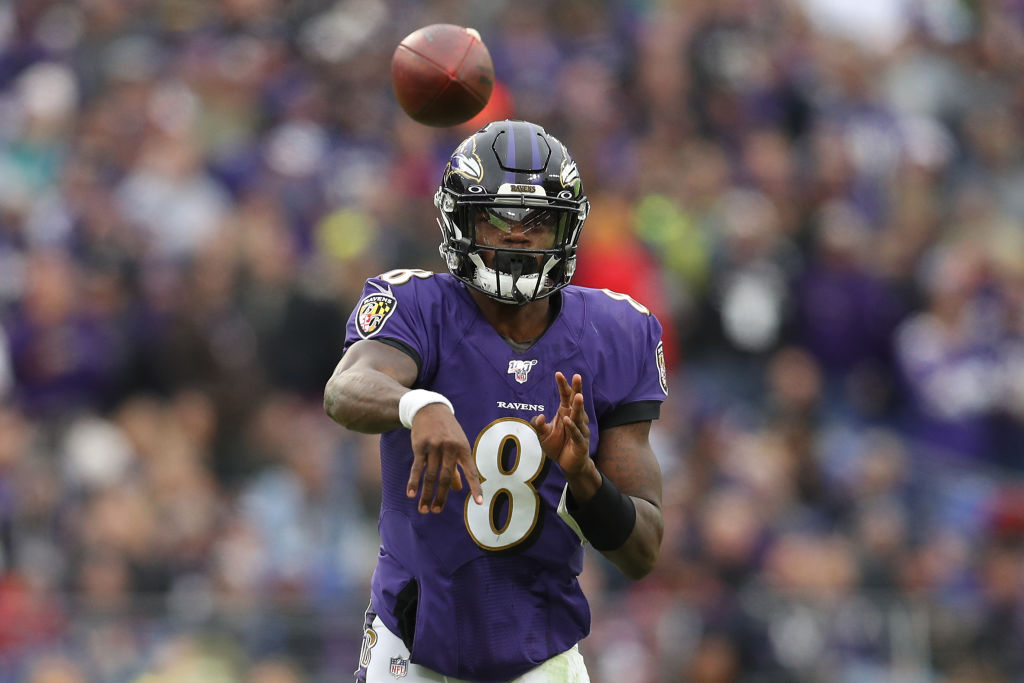 Baltimore Ravens quarterback Lamar Jackson has been a prolific runner this season.