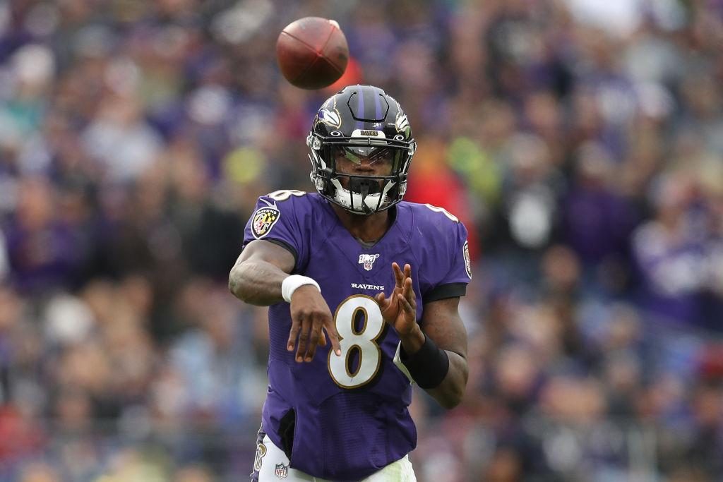 Baltimore Ravens quarterback Lamar Jackson has been a prolific runner this season.