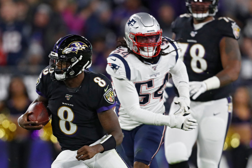 Did Lamar Jackson and the Baltimore Ravens prove the New England Patriots defense is overrated?