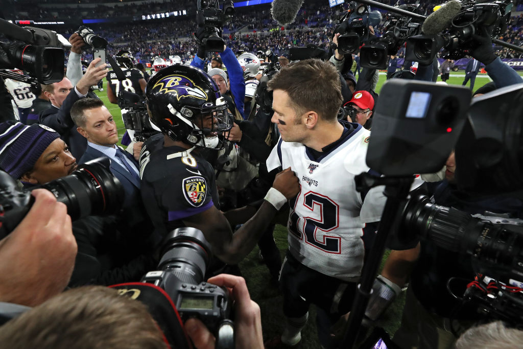 Michael Vick believes the Patriots lost to Lamar Jackson and the Ravens because they foresee playing them in the AFC playoffs.