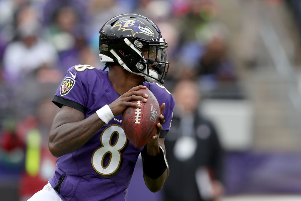 Lamar Jackson was a rookie last season that took over as starter midway through the year