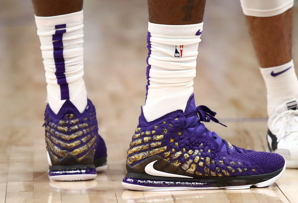 NBA stars like Michael Jordan and LeBron James are known for their basketball sneakers.