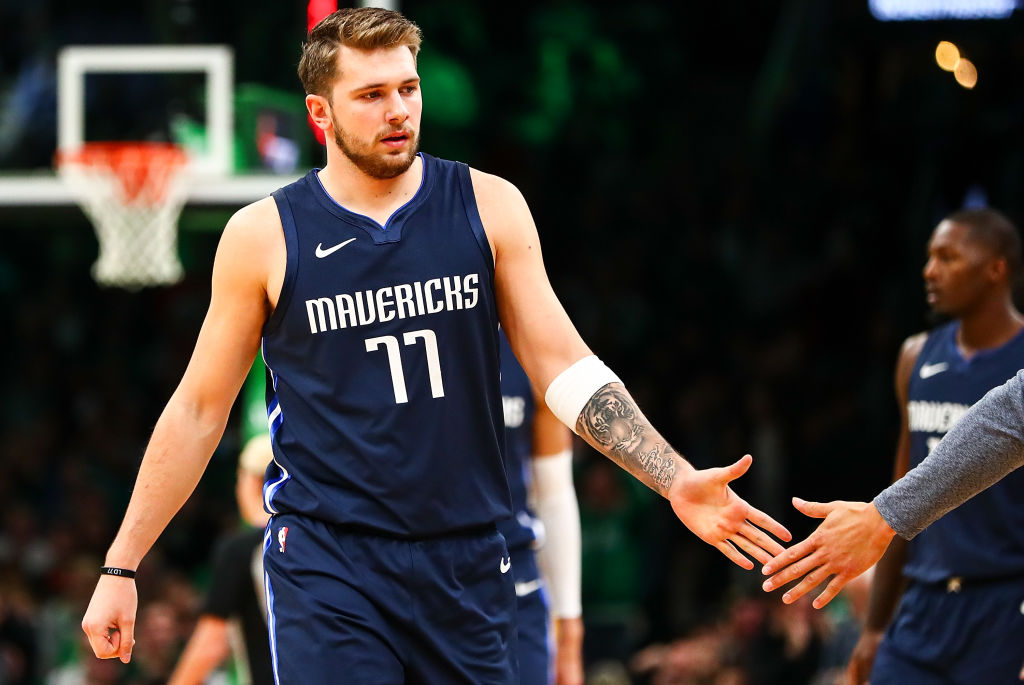 The future in Dallas is very bright with Luka Doncic leading the way