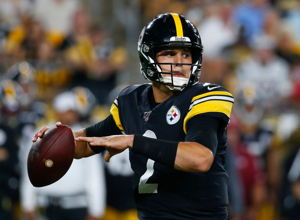Mason Rudolph has been steady in the starting role