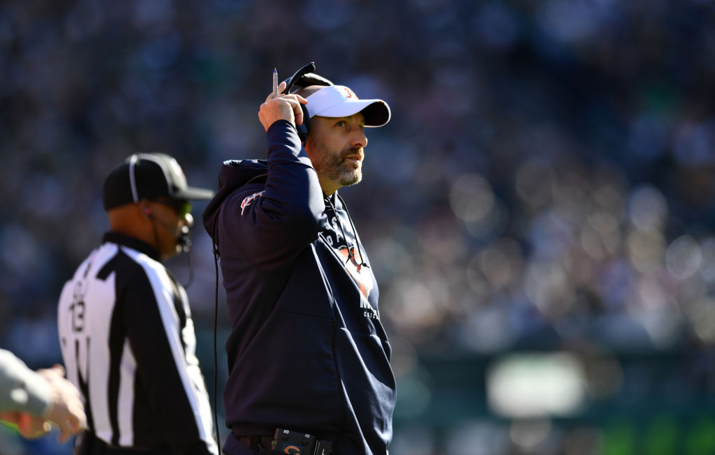 Head coach Matt Nagy might be the real problem with the Chicago Bears in 2019.